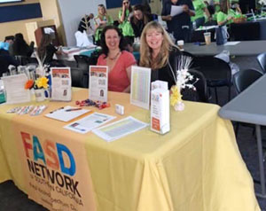 FASD Information booth at